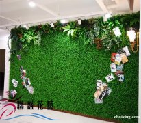 北京仿真草坪厂家便宜草坪批发假草皮仿真植物墙背景墙