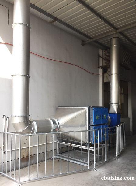 宁波姜山工厂废气净化成套设备